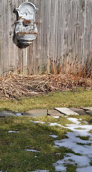 snow melting in Amherst NY