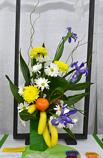 flower arrangement in Hamburg NY Curious George
