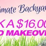 Plantasia backyard makeover contest