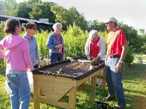 demonstration garden in Jamestown NY