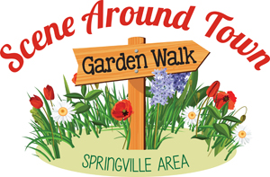 Scene Around Town Garden Walk logo
