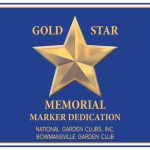 Gold Star dedication by Bowmansville in Lancaster