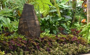 Shayne Dark artwork at Buffalo Botanical Gardens