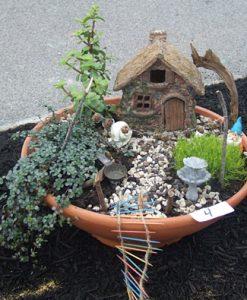 fairy garden at Williamsville Garden Walk