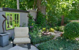 outdoor living room in Buffalo NY