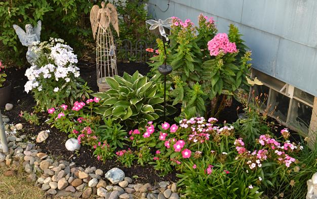 Meditation garden in Cheektowaga