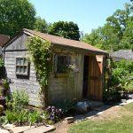 shed flowers vegetable garden in Niagara Falls