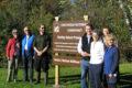 wildflower trail in Bentley Sanctuary