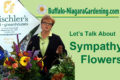 title shot of video called Let's Talk About Sympathy Flowers