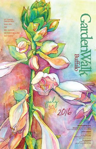 poster for Garden Walk Buffalo 2016