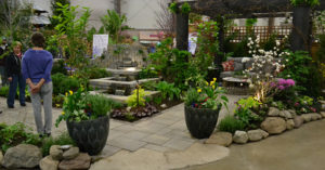 Menne Nursery display in Hamburg NY