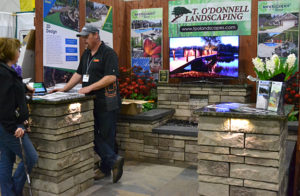 T. O'Donnell Landscaping at Plantasia in Hamburg