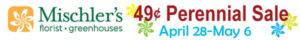 Mischler's 49 cent perennial sale ad 2017