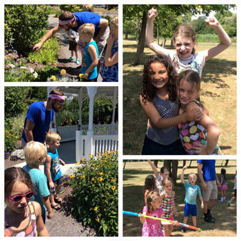 day camp at Buffalo and Erie County Botanical Gardens