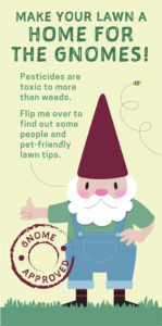 info to hang on door with lawn tips from Erie County
