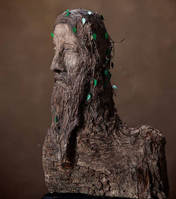 sculpture Wise Man of the Woods