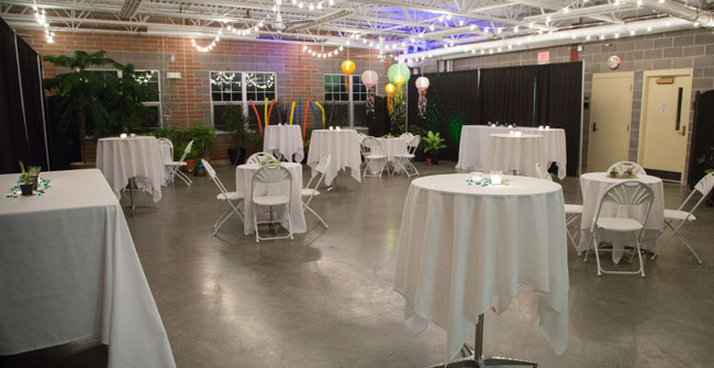 party at Buffalo and Erie County Botanical Gardens