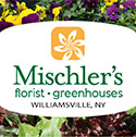 logo for Mischler's Florist and Greenhouses