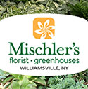 winter logo for Mischler's Florist and Greenhouses