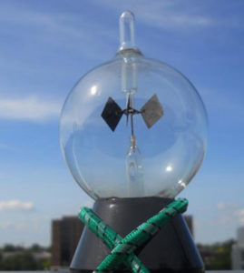 radiometer in weather garden