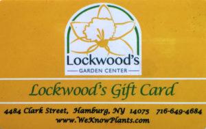 gift card at Lockwood's