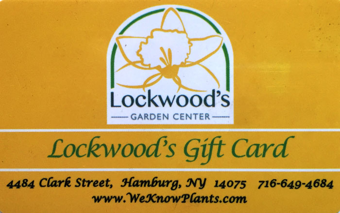 gift card at Lockwood's