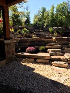 landscape including steps