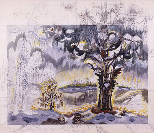 Charles E. Burchfield Dawn of Spring, ca. 1960s