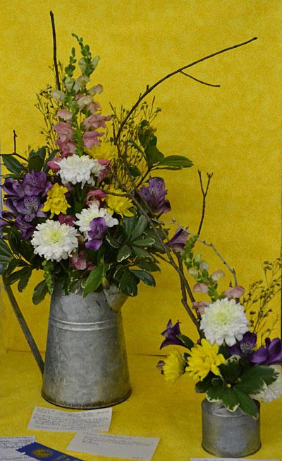 cottage garden entry in flower show