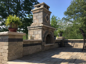 outdoor kitchen by Tripi's Landscaping