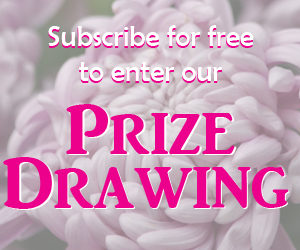 ad for gardening prize drawing