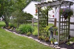 garden along fence in Grand Island
