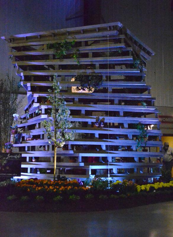 Buffalo Tree House and The Tree Doctor at Plantasia 2018
