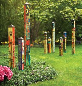 Garden decorations at Zittel's in Hamburg NY