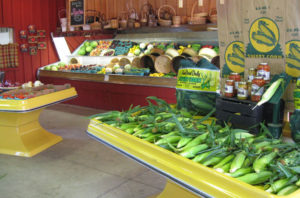 corn and other produce at Zittel's Country Market