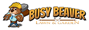 logo for Busy Beaver Lawn and Garden