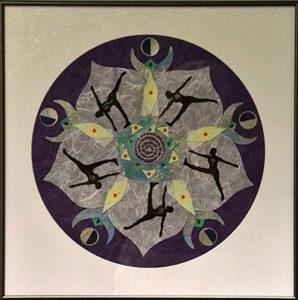 mandala by Caroline North