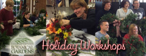 Buffalo and Erie County Botanical Gardens floral workshops