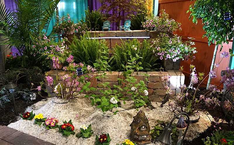 garden by S&K and DeGroff at Plantasia 2019