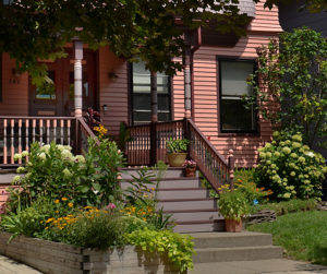 front of house on Garden Walk Buffalo