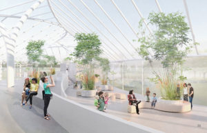 proposed renovation at Buffalo and Erie County Botanical Gardens