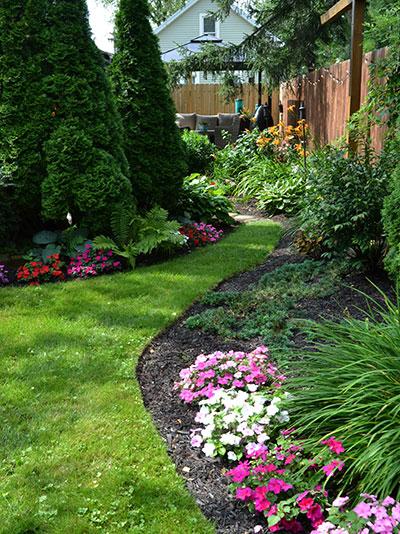 garden beds in South Buffalo