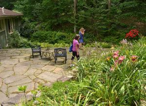 Shadrack garden visited by garden communicators