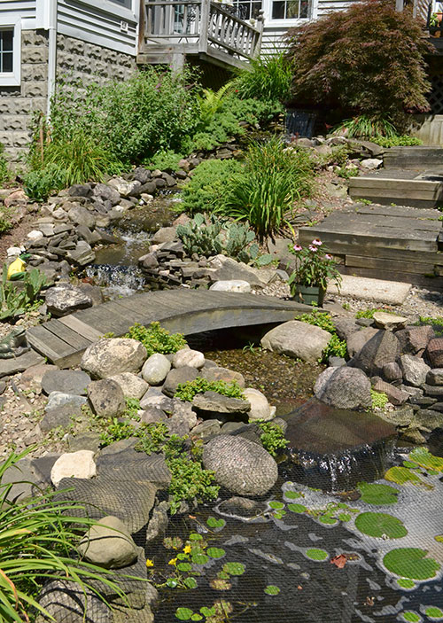 large water feature by Stofko
