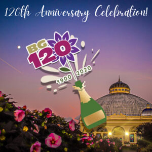 Botanical Gardens 120th anniversary celebration