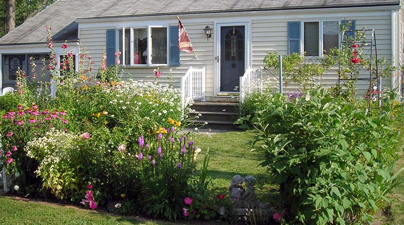 perennial garden in Lancaster NY