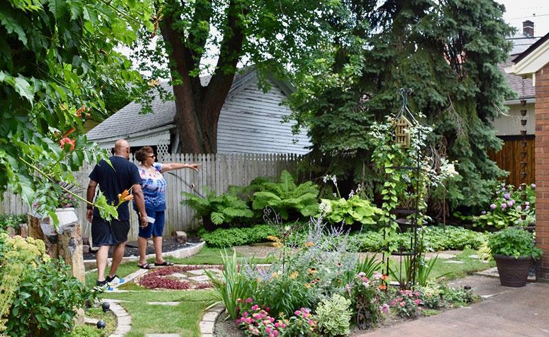 garden in East Side Garden Walk