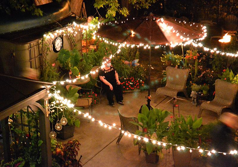 view of patio from balcony in City of Tonawanda NY