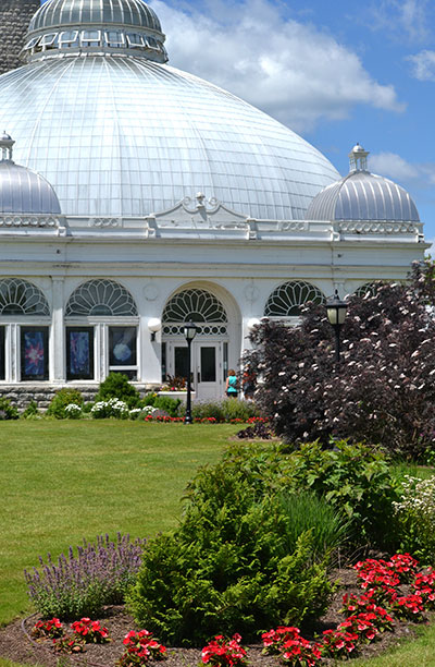 Buffalo and Erie County Botanical Gardens side view