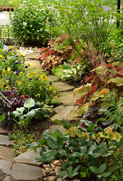garden path in Kenmore NY